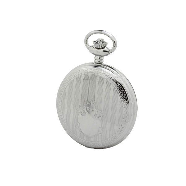 orologio tasca cromato reporter P-1103-0-ACC SCUDO