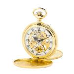 Orologio da tasca Reporter Time placcato P-1103-0-PL FRONTE